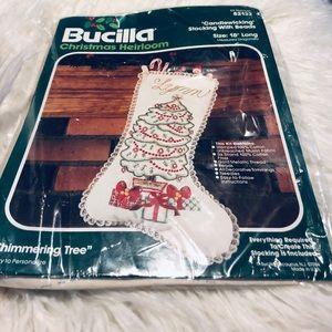 COPY - Vintage Bucilla Christmas Heirloom Stockin…